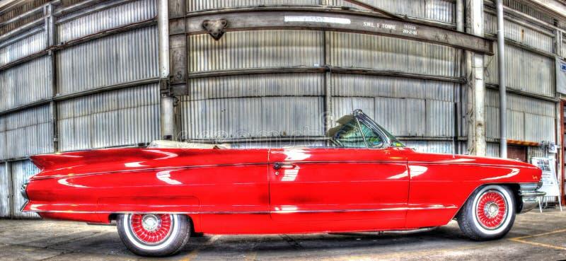 Klasyczny 1960s amerykanina Cadillac kabriolet obraz stock