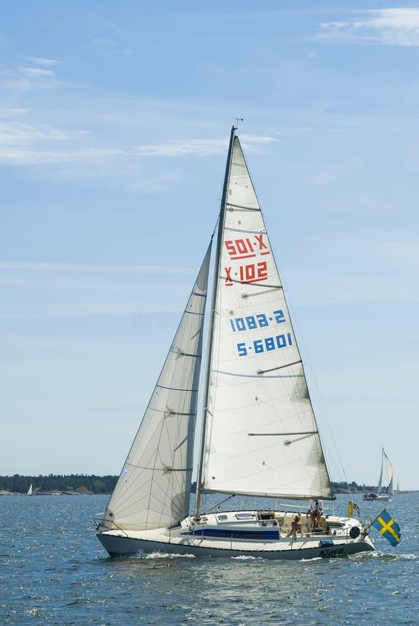Download Klasyczny X102 Sailingyacht Obraz Stock Editorial - Obraz złożonej z europejczycy, architekt: 53792409