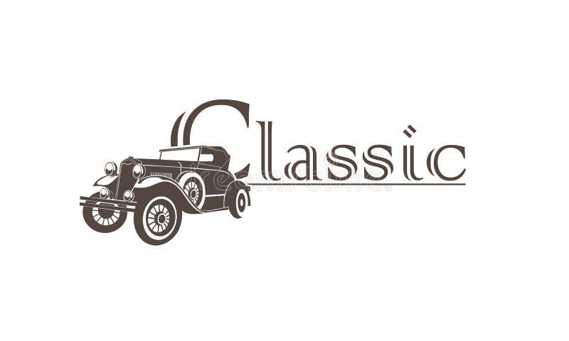 Klasyczny samochód ilustracja wektor