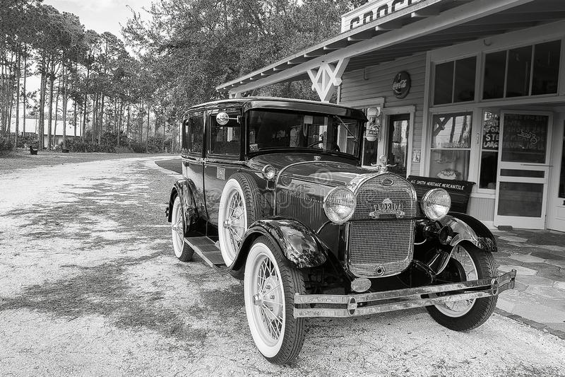 Klasyczny samochód, Ford model A fotografia stock