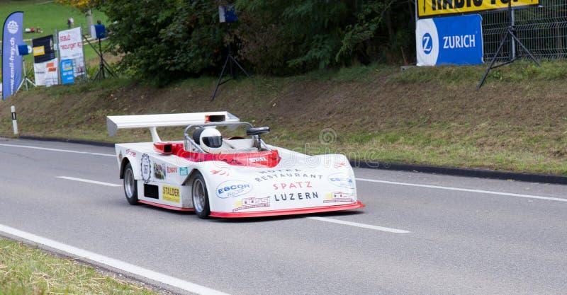 Klasyczny samochód sadzający obrazy stock