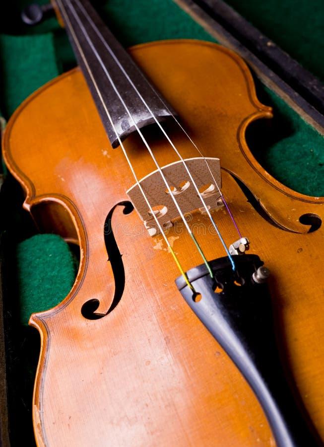 klasyczny skrzynka vionlin obrazy stock