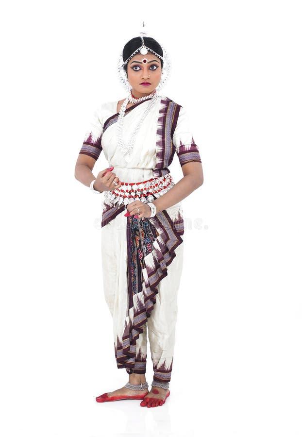 klasyczny tancerza kobiety hindus fotografia royalty free