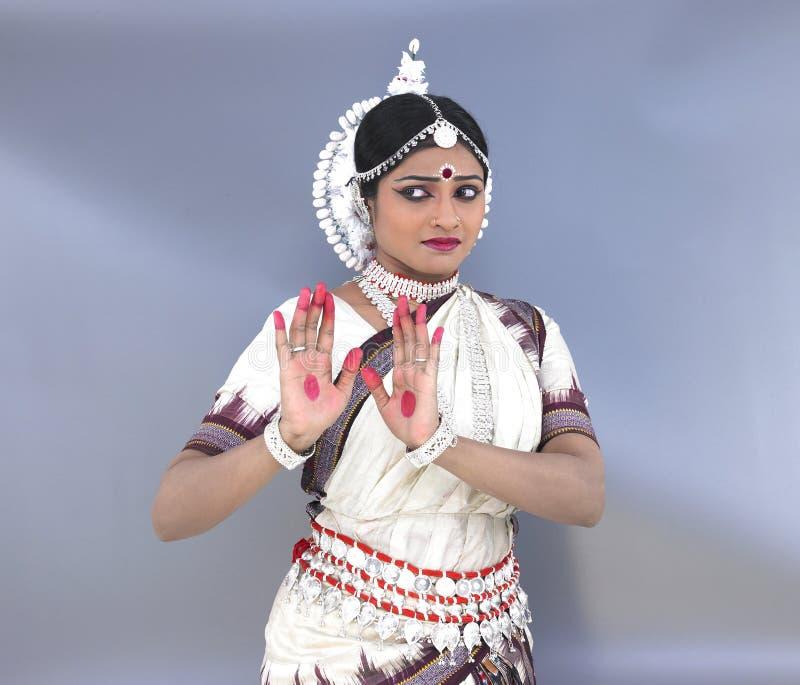 klasyczny tancerza kobiety hindus obraz stock