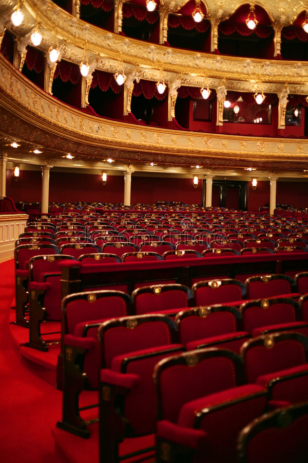 klasyczny teatr zdjęcie stock