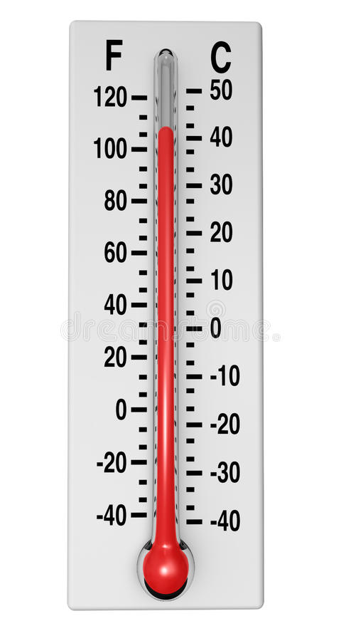 klasyczny termometr fotografia royalty free