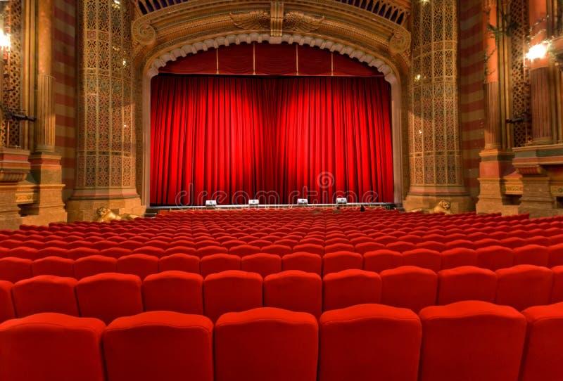 klasyczny theatre obraz royalty free