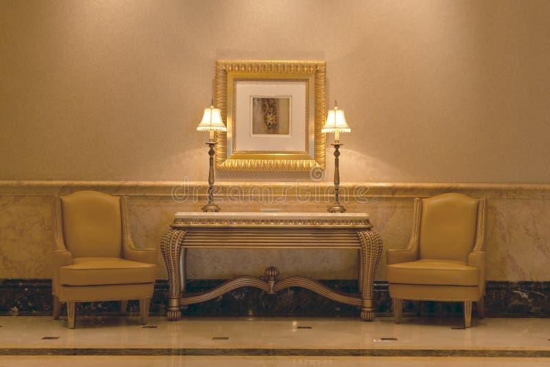 klasyczny wnętrze zdjęcie royalty free
