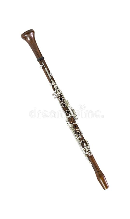 Klasyczny woodwind instrument zdjęcia royalty free