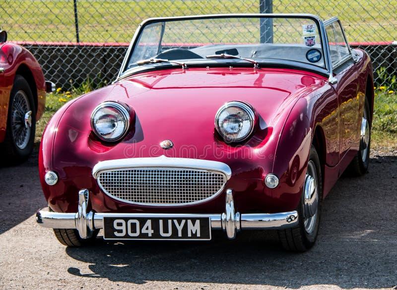 Klasyk bawi się samochód obraz royalty free