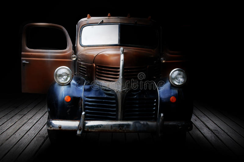 Klasyk Ciężarówka Obraz Royalty Free