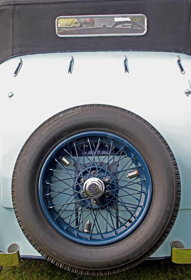 Klasyk i rocznika Samochodowy szczegół zdjęcia royalty free