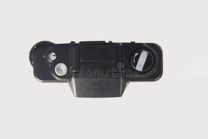 Klasyka 35mm ekranowej kamery odgórny widok zamykający zdjęcia stock