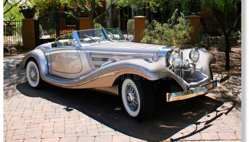 Klasyka 30 ` s Mercedes-Benz dodatku specjalnego terenówka obraz royalty free