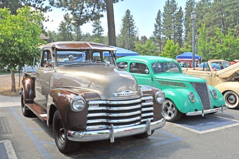 Klasyka samochód & ciężarówka zdjęcia stock