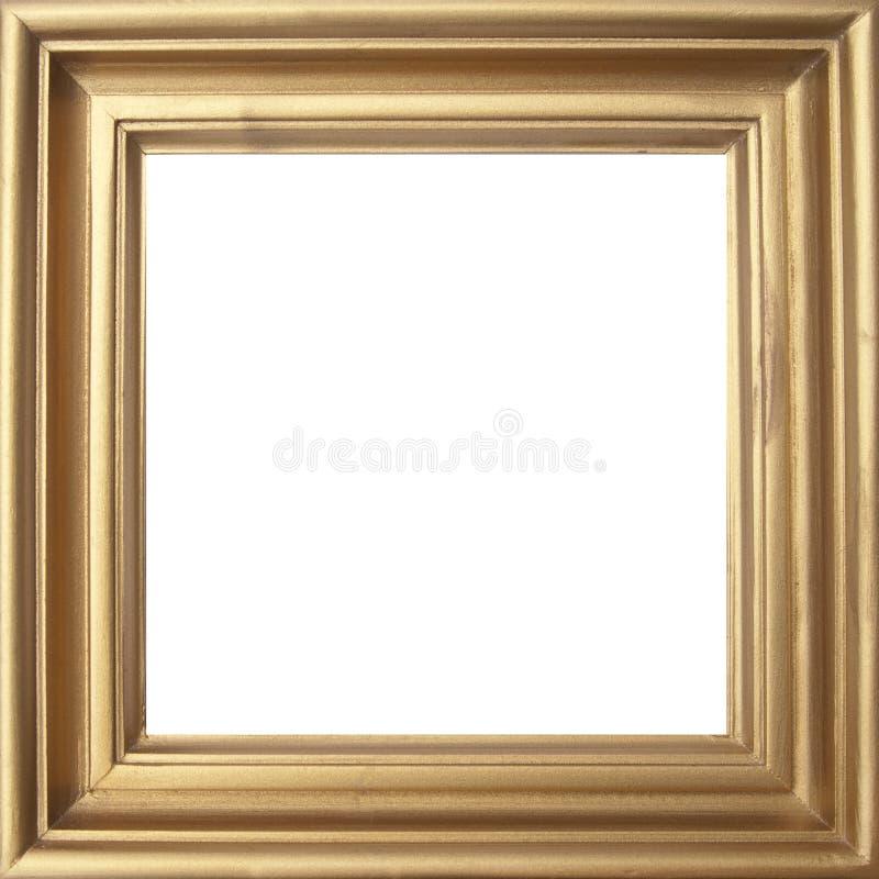 klasyka złoty ramowy zdjęcie stock