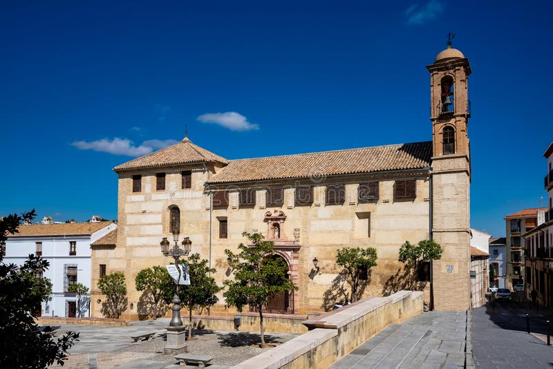Klasztor ?wi?tobliwy Catalina Antequera Malaga prowincja, Andalusia, Hiszpania fotografia royalty free