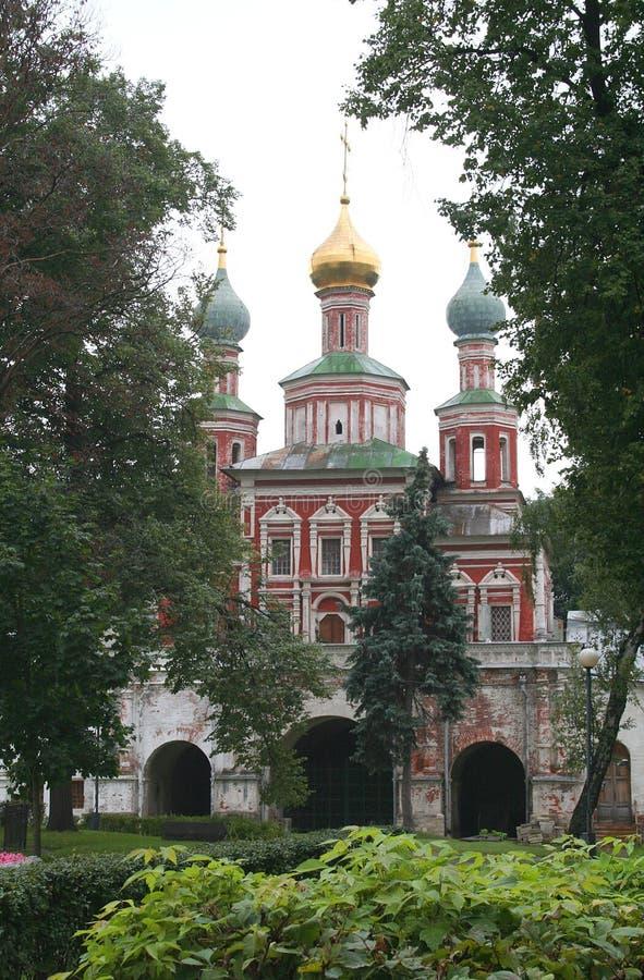 klasztor 8 novodevichy fotografia royalty free