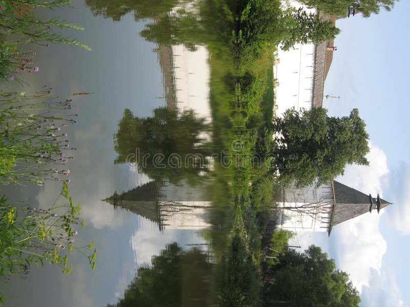 klasztor borovskiy Rosji zdjęcie stock