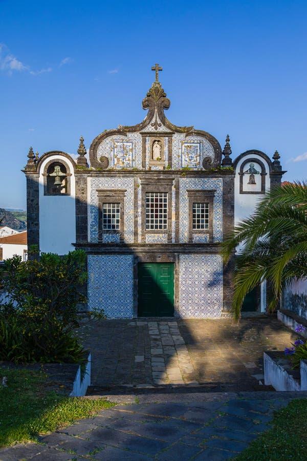 Klasztor Caloura na południowym wybrzeżu Sao Miguel wyspa, Azores zdjęcia stock