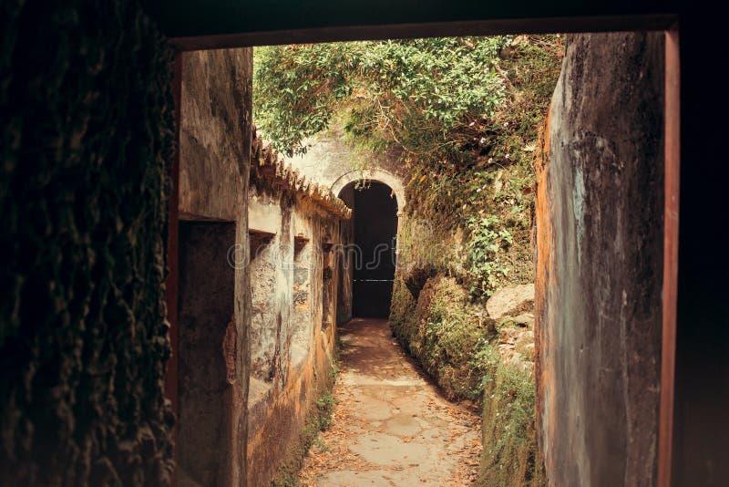 Klasztor Capuchos, Sintra obraz stock