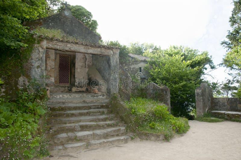 Klasztor Capuchos, Sintra, Portugalia - fotografia stock