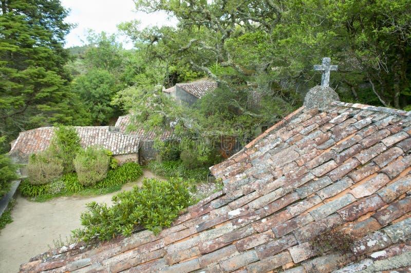 Klasztor Capuchos, Sintra, Portugalia - obraz royalty free
