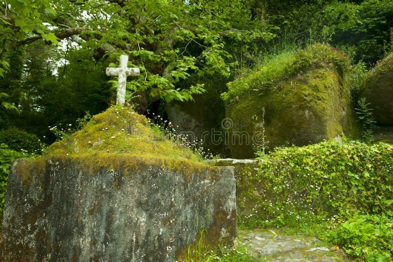 Klasztor Capuchos, Sintra, Portugalia - zdjęcie royalty free