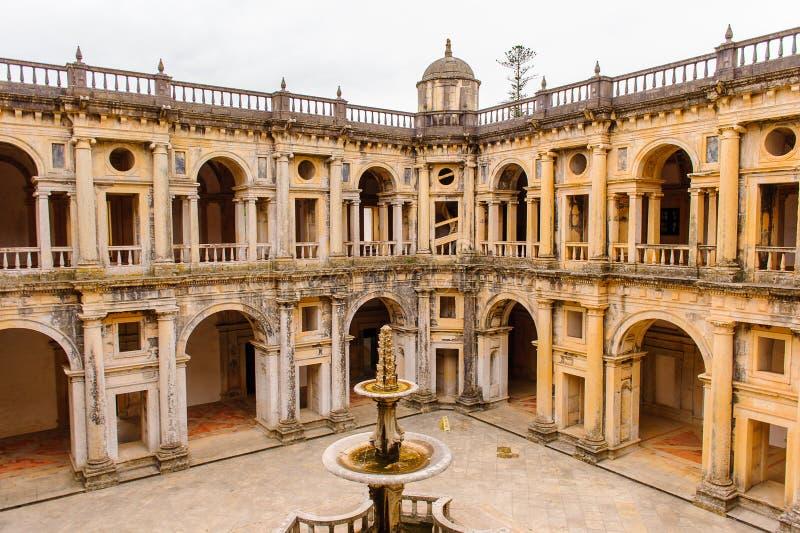 Klasztor Chrystus w Tomar, Portugalia fotografia stock