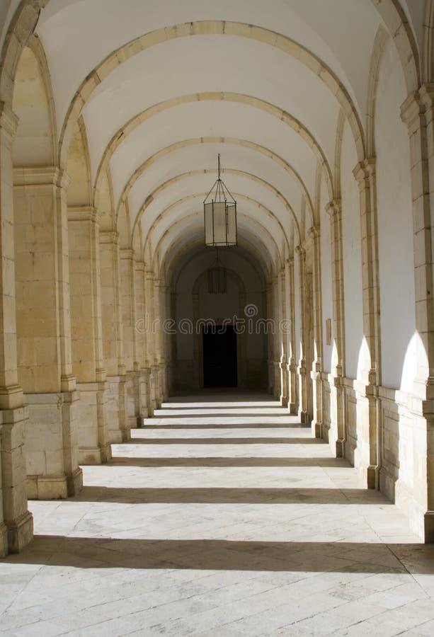 klasztor cloisters obraz royalty free
