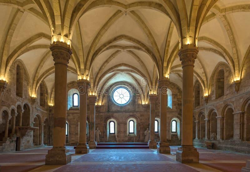 Klasztor Cystersów w Alcobacu obrazy stock