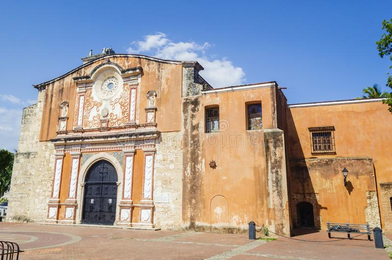 Klasztor Dominicans i kościół jesteśmy starym Katolickim budynkiem w Amerykańskim kontynencie obraz stock