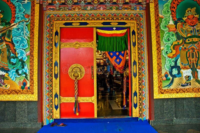 klasztor drzwiami fotografia stock