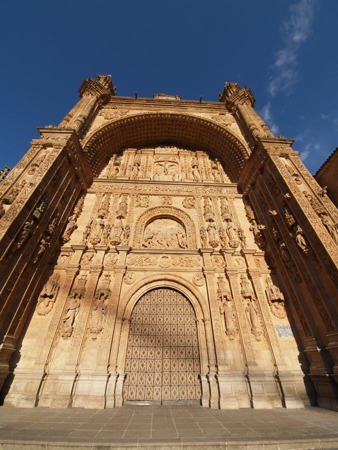 klasztor Esteban s Salamanca San Spain fotografia royalty free