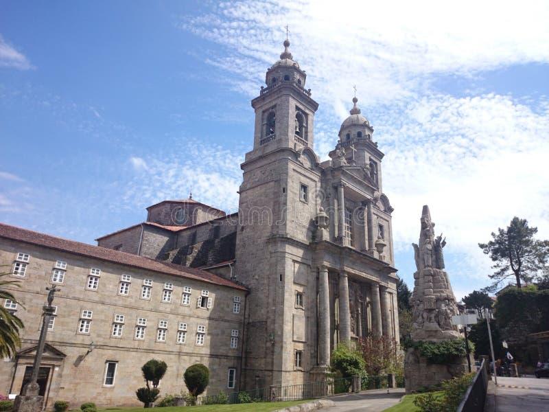 Klasztor i kościół San Fransisco zdjęcie stock