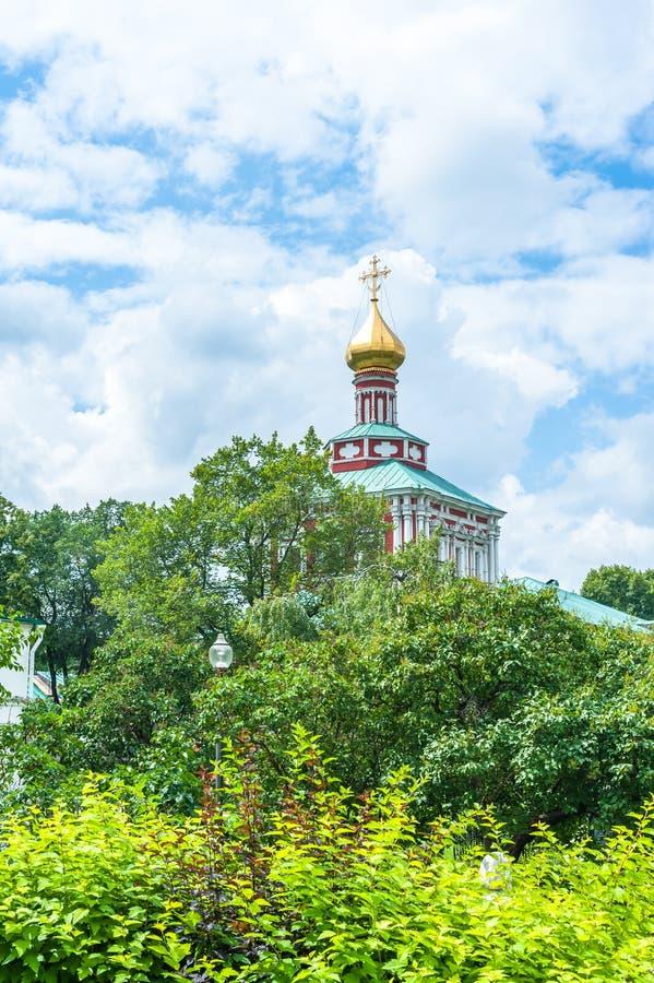 klasztor novodevichy obraz stock