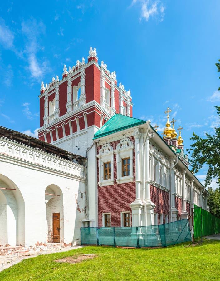 klasztor novodevichy fotografia royalty free