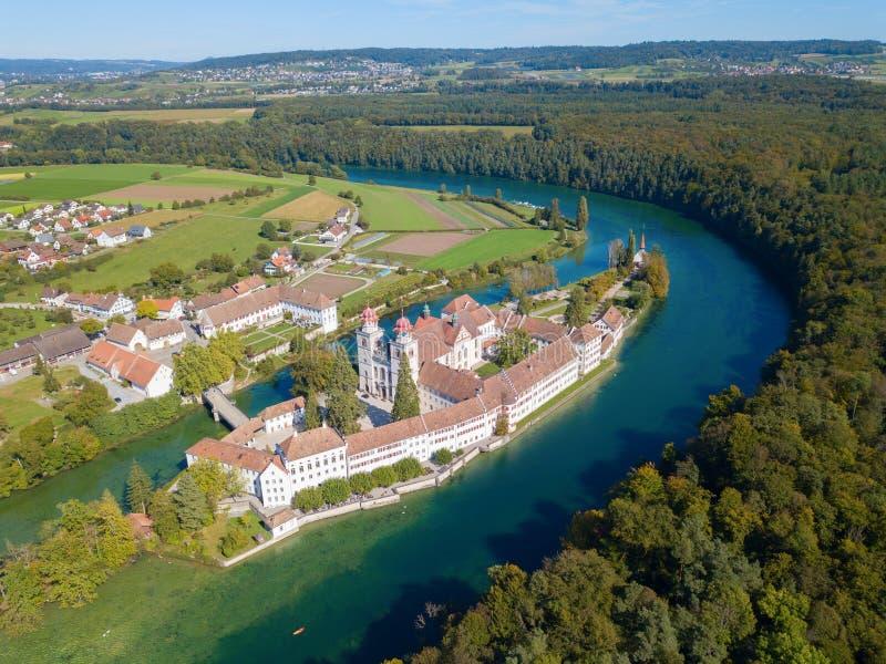 Klasztor Rheinau zdjęcia royalty free