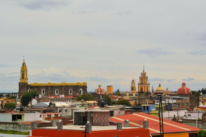 Klasztor San Gabriel kościół, Cholula, Meksyk fotografia stock