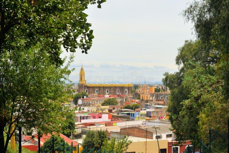 Klasztor San Gabriel kościół, Cholula, Meksyk zdjęcia stock
