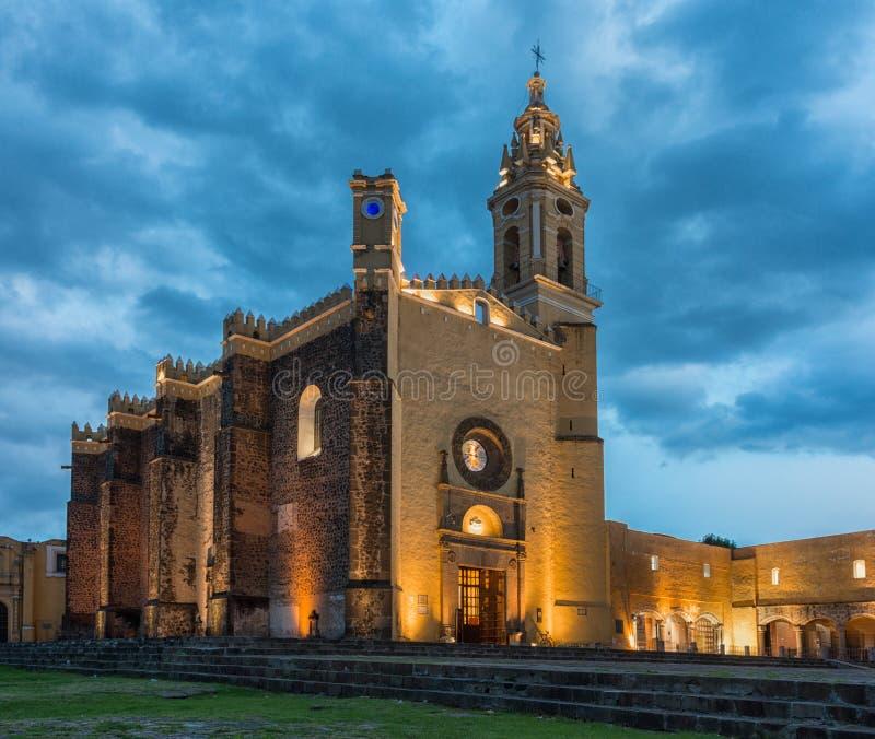 Klasztor San Gabriel w Cholula, Meksyk zdjęcie royalty free