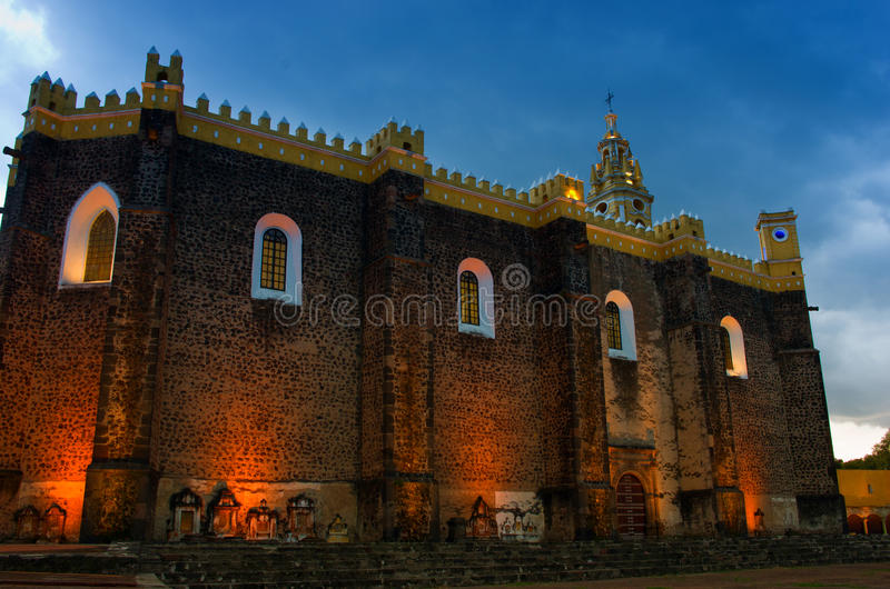 Klasztor San Gabriel w Cholula, Meksyk zdjęcia stock