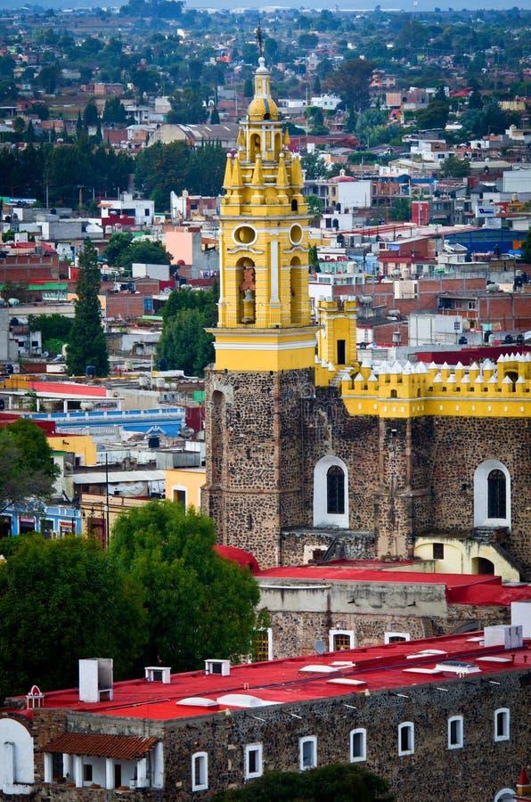 Klasztor San Gabriel w Cholula, Meksyk fotografia royalty free
