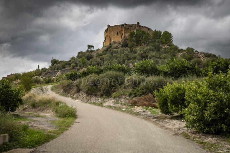 Klasztor Santa Maria de Montesa Valencian militarny rozkaz zdjęcia stock