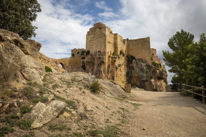 Klasztor Santa Maria de Montesa Valencian militarny rozkaz fotografia stock