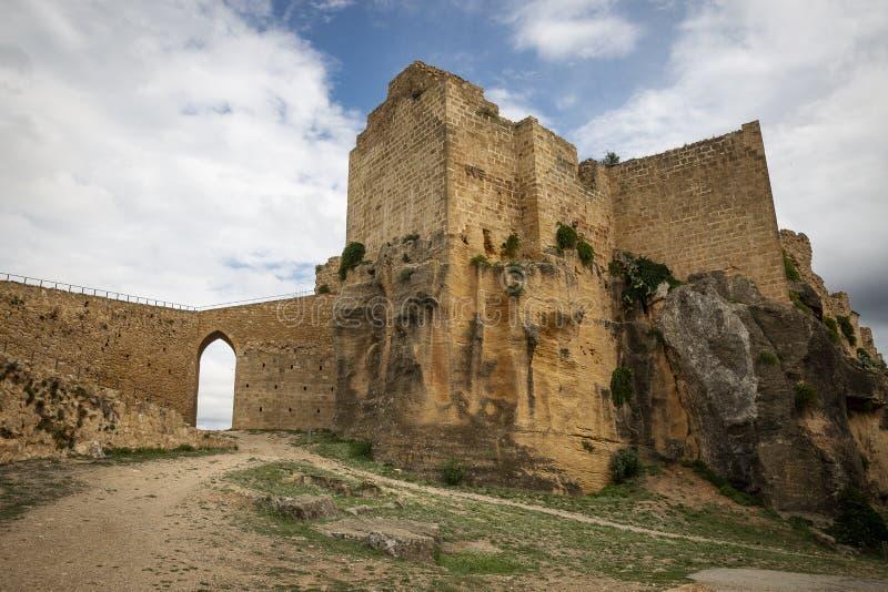 Klasztor Santa Maria de Montesa Valencian militarny rozkaz obraz royalty free