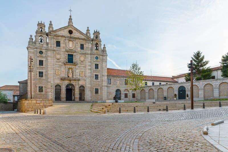 Klasztor Santa Teresa w Avila, Castilla y Leon, Hiszpania fotografia royalty free