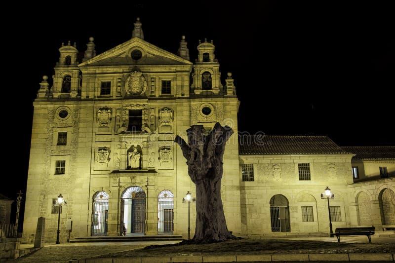Klasztor St. Teresa Jezus zdjęcia royalty free