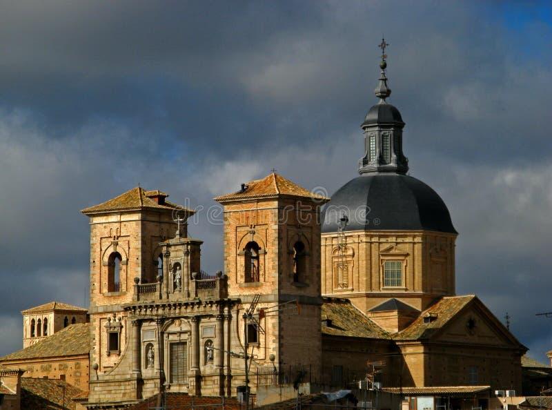 klasztor Toledo obrazy royalty free