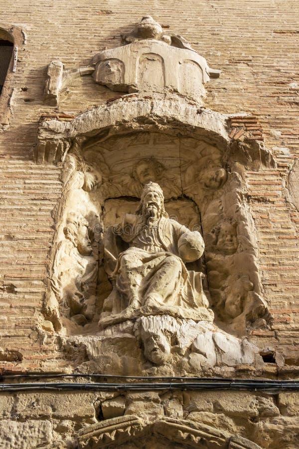 Klasztor Trinitarios, Puente losu angeles Reina, Hiszpania zdjęcia royalty free